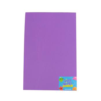 4Kids, EVA Foam Sheet, 18 x 12 inches, Purple