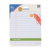 Carson-Dellosa, School Tools Notepad, 5.75 x 6.25 Inches, 50 Sheets