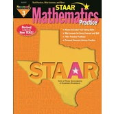 Newmark Learning, STAAR Mathematics Practice: Grade 3, 8.5 x 11 Inches, Paperback, 176 Pages