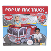 Sunny Days, Maxx Action Firetruck Pop Up Play Tent, Red, 43 x 27 1/2 x 27 1/2 inches