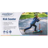 HearthSong, One2Go Kick Scooter with Adjustable Height, 11 x 5 x 20 inches