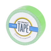 Neon Green Mini Art Project Tape, 3/4 inches x 5 yards, 1 Roll