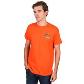 SonTeez, Preacher Won't Have to Lie, Short Sleeved T-Shirt, Orange, S-2XL