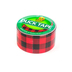 Duck Brand, Buffalo Plaid Duct Tape, 1.88 x 10 Yards, Red and Black, 1 Roll