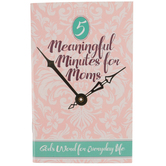 CTA, Inc., 5 Meaningful Minutes for Moms Pocket Devotional, Paperback, 48 Pages, 3 1/2 x 5 1/2 inches