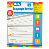 Evan-Moor, Daily Language Review, Grade 6, Teacher's Edition, Paperback, 136 Pages