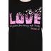 Gardenfire, Micah 6:8, Butterfly Love, Women's Short Sleeve T-Shirt, Black
