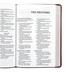 NASB 95 Thinline Bible, Giant Print, Imitation Leather, Brown