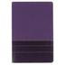 NIV Thinline Bible, Large Print, Duo-Tone, Purple