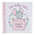 Christian Art Gifts, Our Baby Girls First Year Memory Book, Hardcover, 10 3/4 x 10 1/2 inches
