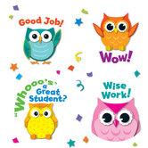 Carson Dellosa, Colorful Owl Motivational Stickers, Multi-Colored, Pack of 120