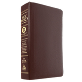 ESV Hebrew-Greek Key Word Study Bible, Genuine Leather, Multiple Colors Available
