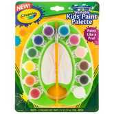 Crayola, Kids Washable Paint Palette, 12 Assorted Colors