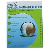 Math Mammoth, Grade 3-A Worktext, Light Blue Series by Maria Miller, Paperback, Grade 3