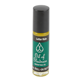 Every Good Gift, Oil of Gladness Latter Rain Anointing Oil, Roll On, 1/3 Ounce