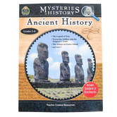 Teacher Created Resources, Mysteries In History: Ancient History Activity Book, Grades 5-8