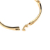 Faithful and Fabulous, Bracelet with Heart Earrings Set, Zinc Alloy and Glass, Gold