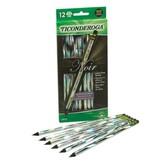 Dixon Ticonderoga, Noir Pencils, #2 HB, Silver, Pack of 12