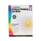 Spectrum, Critical Thinking for Math Workbook, 128 Pages, Grade 8