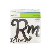 Renewing Minds, Rhinestone Formal Flair Bulletin Board Letters, Upper and Lowercase, 6 Inches, 217 Pieces