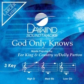 God Only Knows, Accompaniment Track, As Made Popular by For King and Country & Dolly Parton, CD