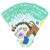 Renewing Minds, Sloth, Good Books No Worries Bookmarks, 2 x 7 Inches, Pack of 36