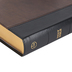 CSB Large Print Personal Size Reference Bible, Imitation Leather, Black & Brown, Thumb Indexed