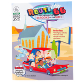Carson-Dellosa, Route 66: A Trip Through The 66 Books of the Bible, 192 Pages, Grades 2-5