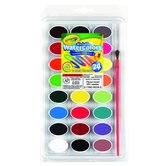 Crayola, Washable Watercolors, 24 Assorted Colors