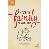 Tyndale House, The One-Year Classic Family Devotions, by Keys for Kids Ministries, Paperback