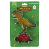 Handstand Kitchen, Dinosaur Cookie Cutters, 2 Pieces, Ages 6 & Older
