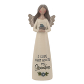 Blossom Bucket, I Love That You're My Grandma Angel, Resin, 5 inches