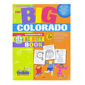 Gallopade, The BIG Colorado Reproducible Activity Book, Paperback, 96 Pages, Grades 2-8