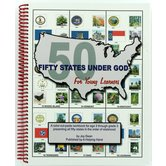 A Helping Hand, Fifty States Under God for Young Learners Workbook, Spiral, Grades PreK-2
