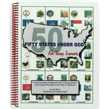 A Helping Hand, Fifty States Under God for Young Learners, Spiral, Grades Preschool - 2nd Grade