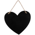 The Kitchen Is The Heart Of The Home Wall Decor, Wood, Black, 10 3/8 x 11 1/2 x 3/8 inches