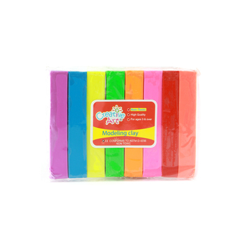 Creative Art Modeling Clay, Assorted Colors, Set of 8