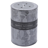 Winfield Home Decor, Smoked Patchouli Pillar Candle, Black, 2 3/4 x 4 inches