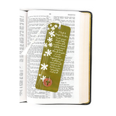 Dicksons, I Said A Prayer Tassel Bookmark with Coin, 2 x 6 inches