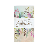 Renewing Faith, Isaiah 12:2 God Is My Salvation 28-Month Pocket Planner, 3 1/2 x 6 1/2 inches