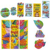 Carson Dellosa, One World Motivational Mini Bulletin Board Set, 14 Pieces