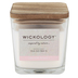 Wickology, Cashmere Petals Jar Candle, Wooden Wick, 13.6 Ounces
