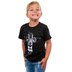 NOTW, Lion Cross, Kid's Short Sleeve T-shirt, Black, 3T