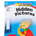 Home Workbooks Gold Star Edition Activity Book: Hidden Pictures, 64 Pages, Grades PreK-1