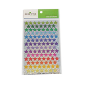 Renewing Minds, Sparkle Stars Mini Incentive Stickers, Assorted Colors, Pack of 1050