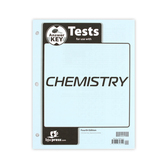 BJU Press, Chemistry Tests Answer Key, 4th Edition, Grade 11