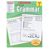 Scholastic, Success with Grammar Workbook, Reproducible Paperback, 64 Pages, Grade 2