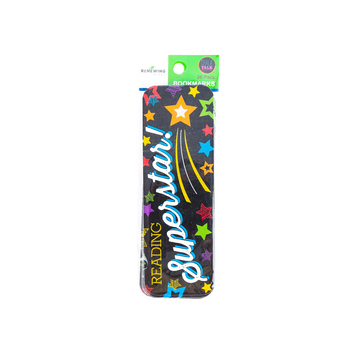 Chalk Talk Collection, Reading Superstar Bookmarks, 2 x 6 Inches, Multi-Colored, Pack of 36