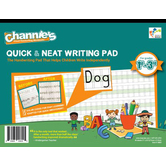Channie's, Quick & Neat Writing Pad, 8.5 x 11 inches, 80 Sheets, Grades 1-3