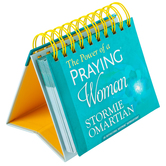 DaySpring, Stormie Omartian Power of a Praying Woman Perpetual Calendar, Paper, 5-1/2 x 5-1/4 x 1-1/4 inches